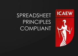 Spreadsheet Principles Compliant ICAEW